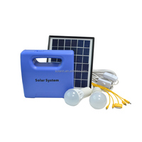 5W solar lighting kits with torch function