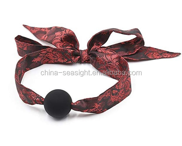 Chinese Red Style Silicone play mouth Ball wholesale cheap for Men Woman