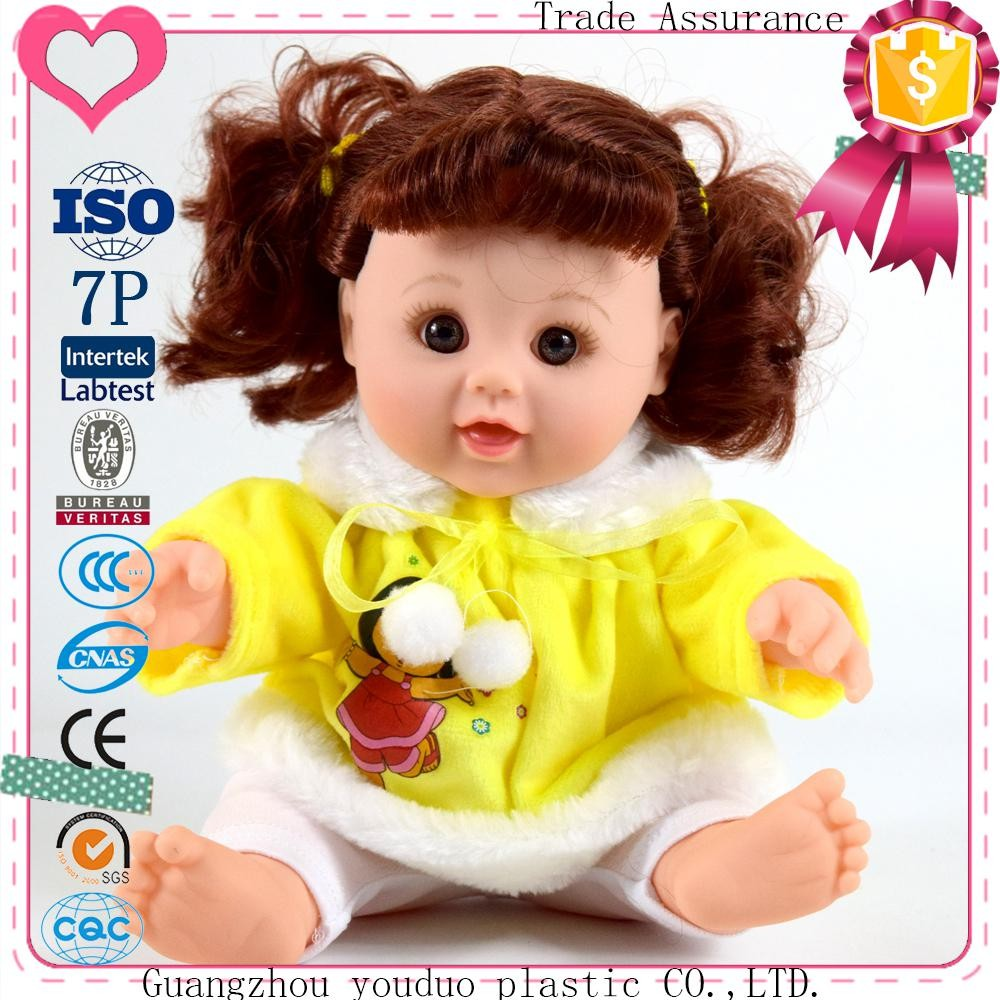 EVA baby doll that acts like a real with CE certification