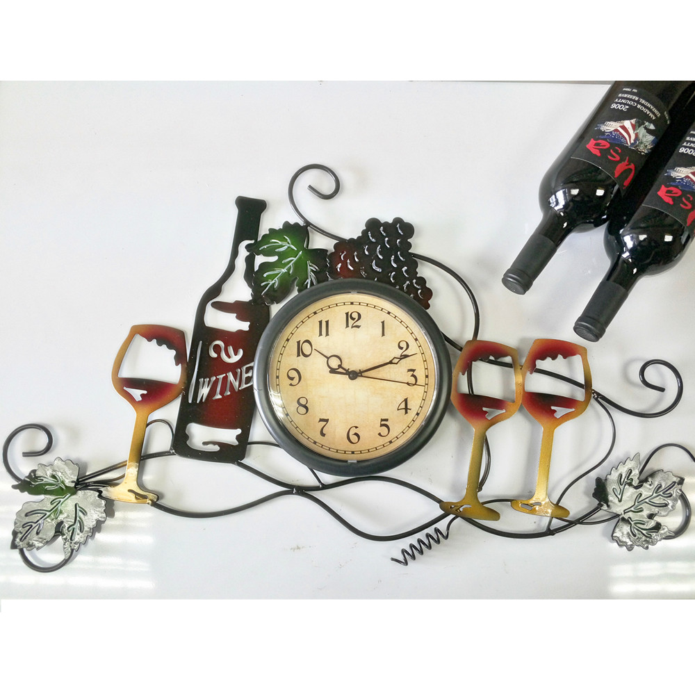 2016 NEW ARRIVAL Iron Art Habitation Decoration Wine