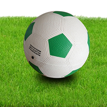 Customized Logo Particle Surface New Model Rubber Football Soccer Ball