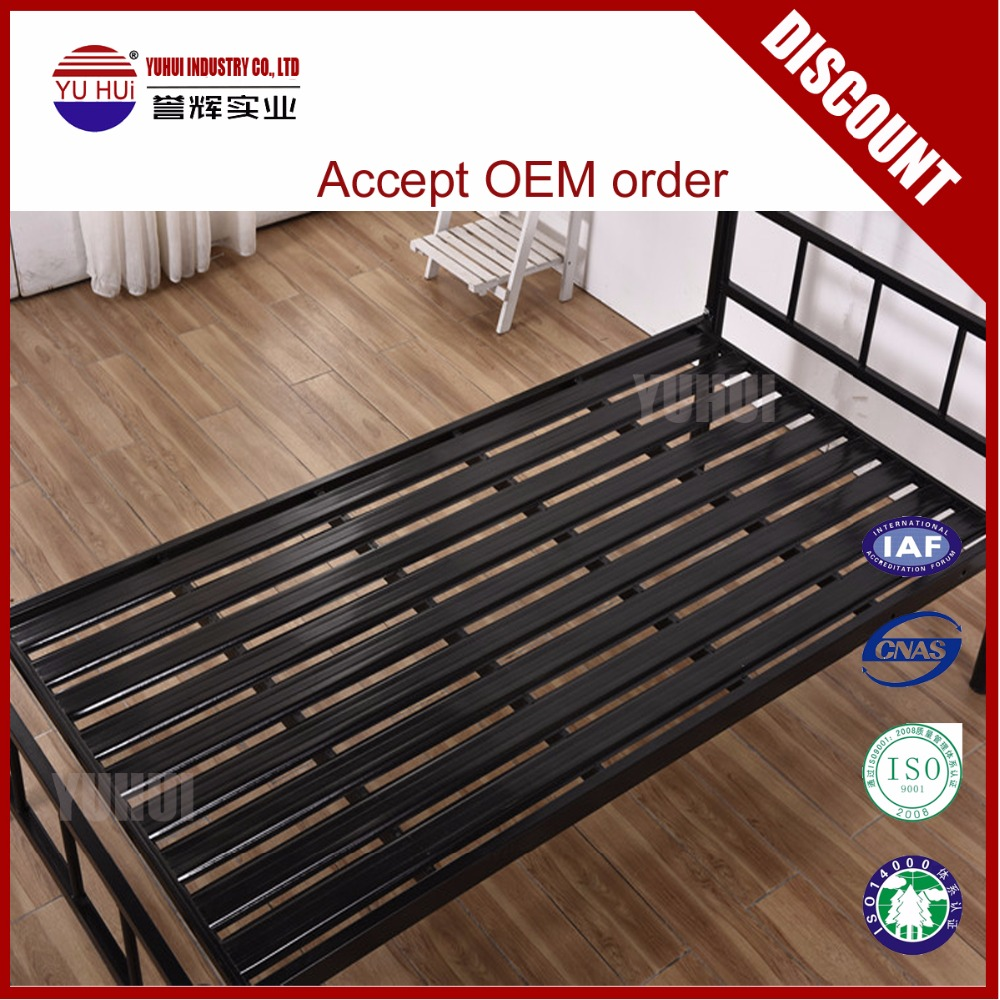 New design metal single bed with high quality steel wholesale Henan metal bunk bed with moderate price metal single bed
