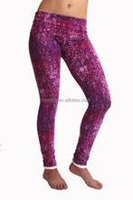 New fashion womens sublimation fitness gym wear