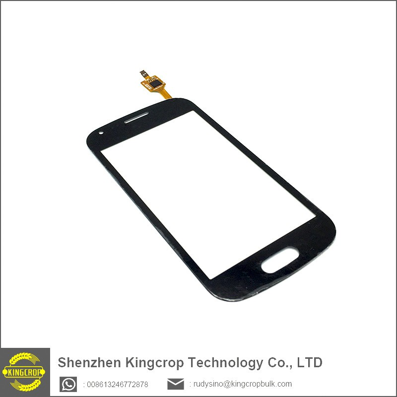 For Samsung Galaxy S Duos S7560 S7562 Touch Screen with digitizer glass panel , white replacement part