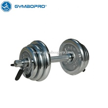 Terbaik Chrome Fitness Home Gym 10Kg Angkat <span class=keywords><strong>Berat</strong></span> <span class=keywords><strong>Dumbbell</strong></span>