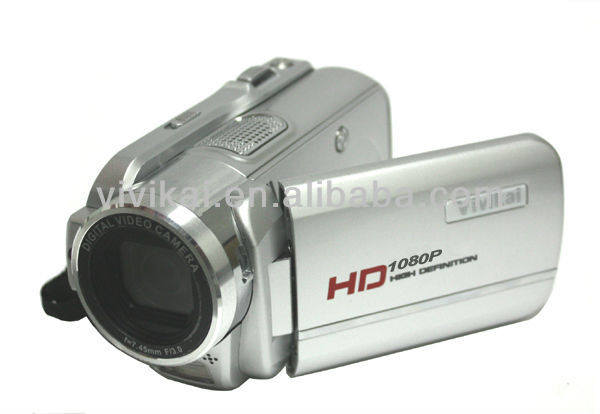 "OEM Professional HD 1080P 16MegaPixels Digital video camera with 3.0"" TFT LCD screen, MP3 Player and Rechargeable Li-ion Battery"