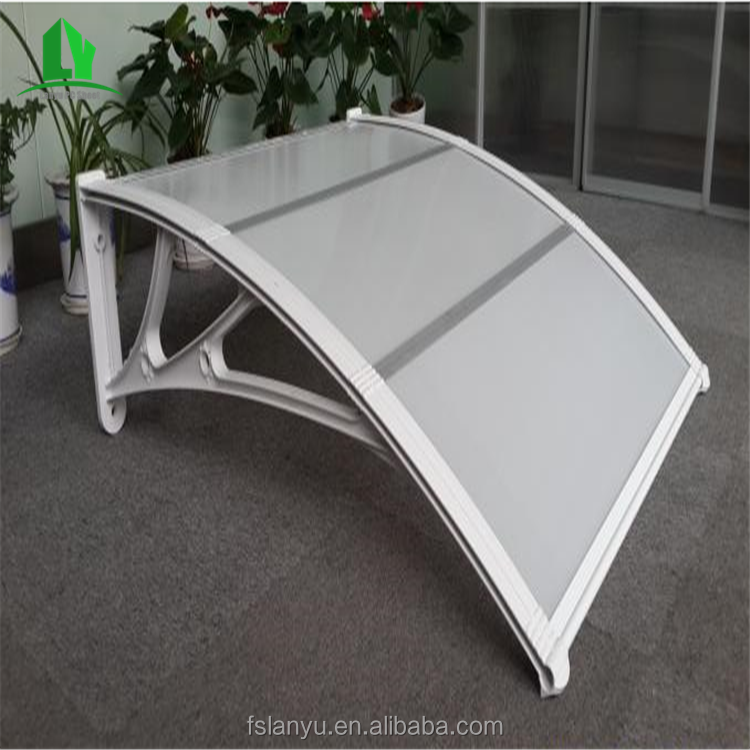 raw materials new design decorative metal awnings