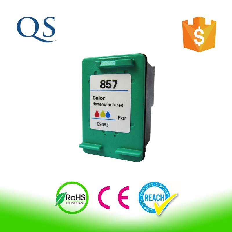 Remanufactured colour ink jet cartridges for hp 134 C9363H