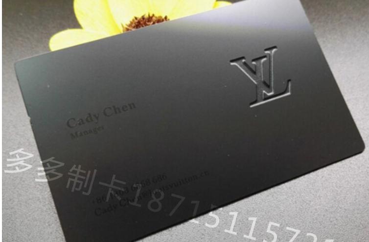 Argent Or Carte De Visite En Metal Dore Cartes Gaufrage