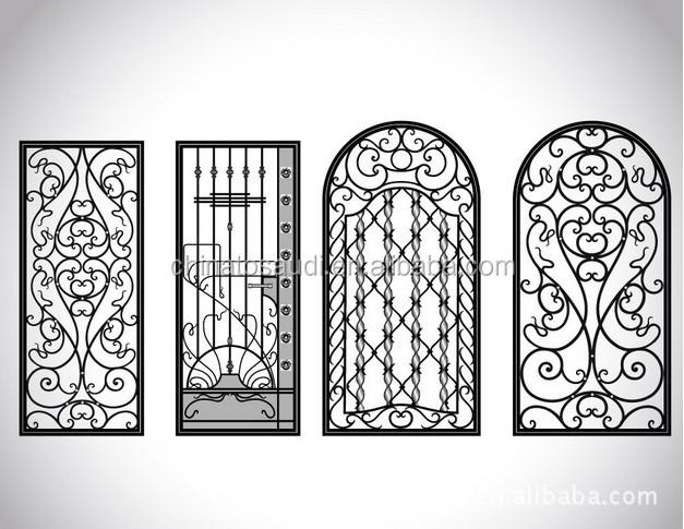 ronda exterior de hierro forjado hierro forjado puertas dobles para villa diseo de la puerta principal with puertas de hierro para exterior