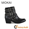 BAR 4108 High quality Italian design ankle punk boots shoes