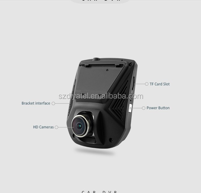 Vehicle Traveling Data Radar Detector Dash Cam Driving Video Car Speed Recorder