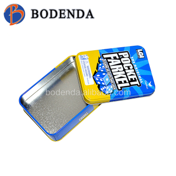 flip tin box,candy tin can,cigarette tin box