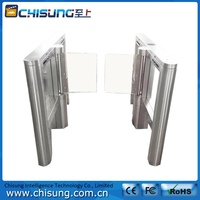 high class high quality heavy duty smart touch control swing gate turnstile
