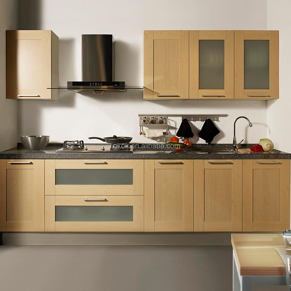 Econ mica peque a praticle melamina gabinete de cocina for Gabinetes de cocina pequena