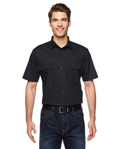 OEM men's work uniforms breathable fabric work cloth carpenter workwear with short sleeve