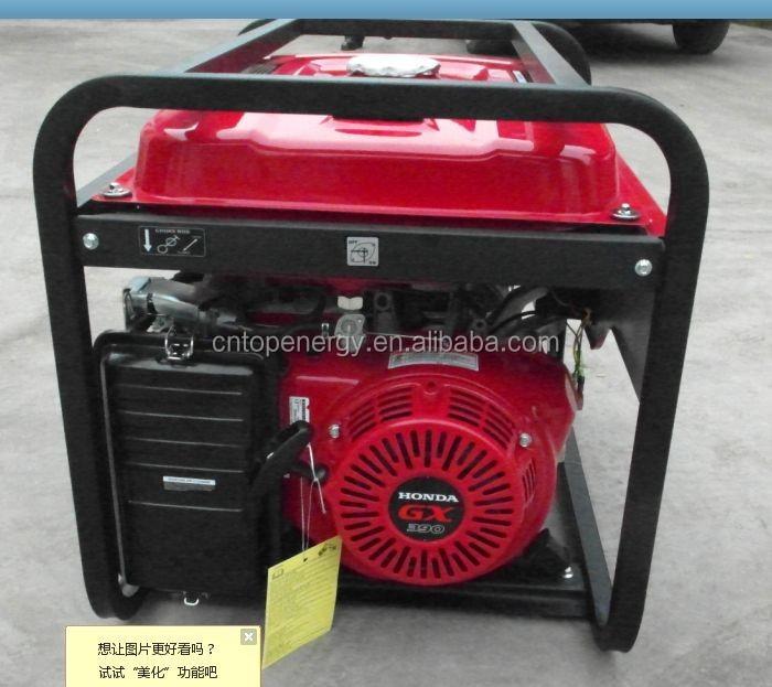 Eg6500cx honda gx390 gasolina generador 5kva precio 24 for Generador gasolina barato