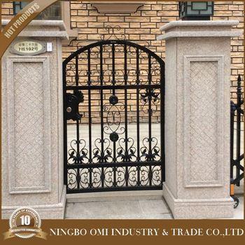 2016 Hebei House Iron Gate Design New Iron Fence Designdecorative