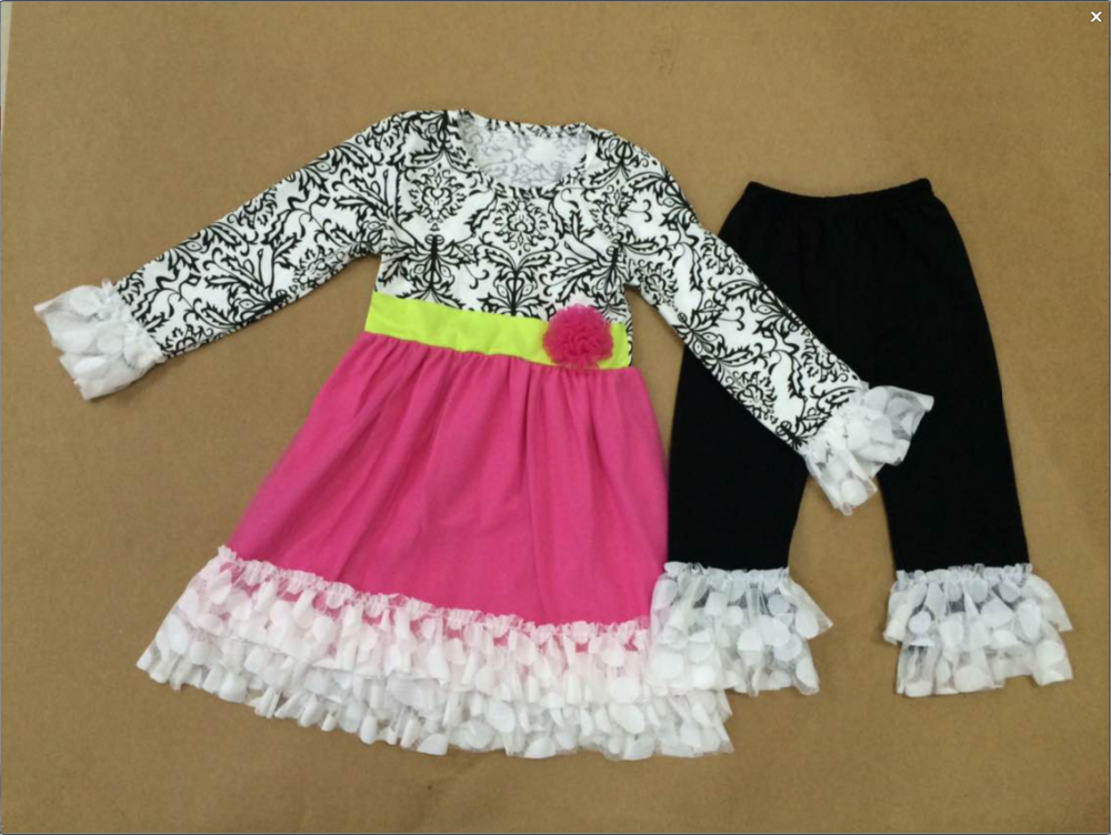 Latest Fashion Long Top Design Boutique Valentines Day Girls ...