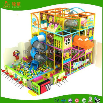 2017 Top Sale Indoor Playground Toddler Jungle Gym For