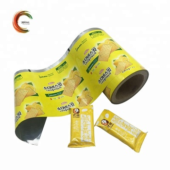 Biscuit plastic packaging film roll
