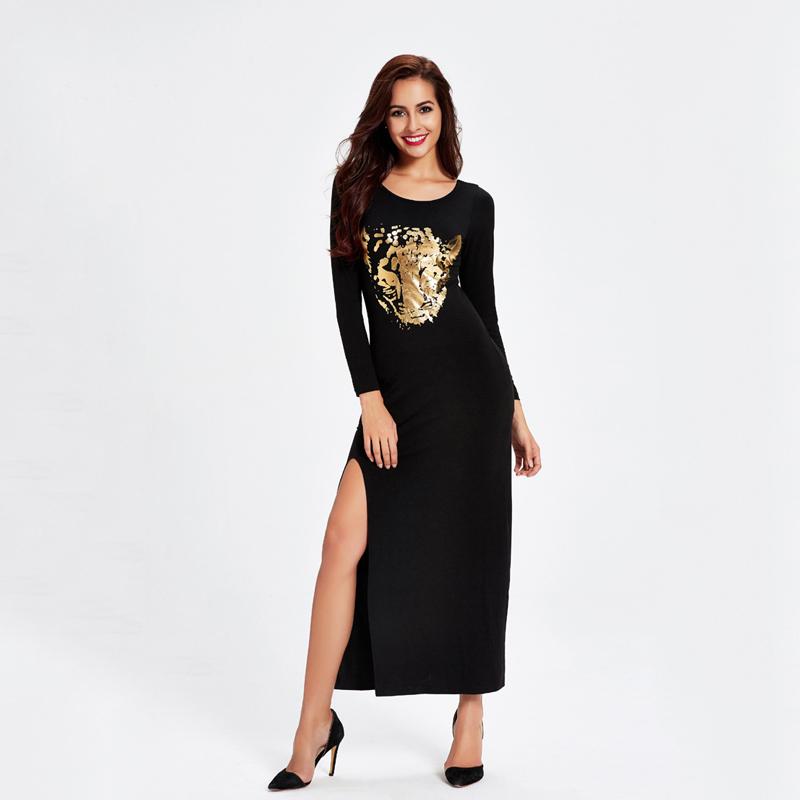 Vestido estampado traduccion