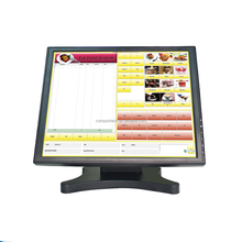 17 inch touch screen monitor 5 wire resistive touch screen lcd industrial monitor