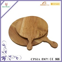 Wood Cheese Cutting Board Oak Serving Board Solid Wood Pizza Board