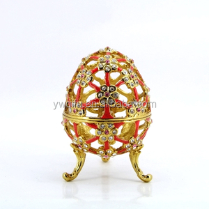 new design hollow out easter egg wedding door gift ideas for women (QF4200-1)