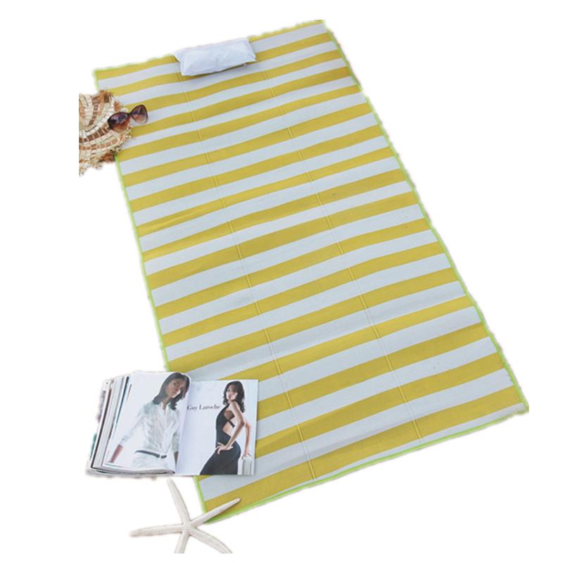 Outdoor Woven Straw Beach Mat
