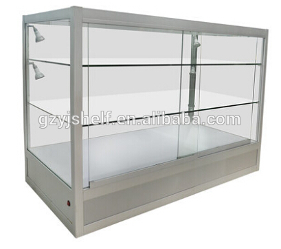 Wall Mounted Glass Display Cases Metal Storage Cabinets