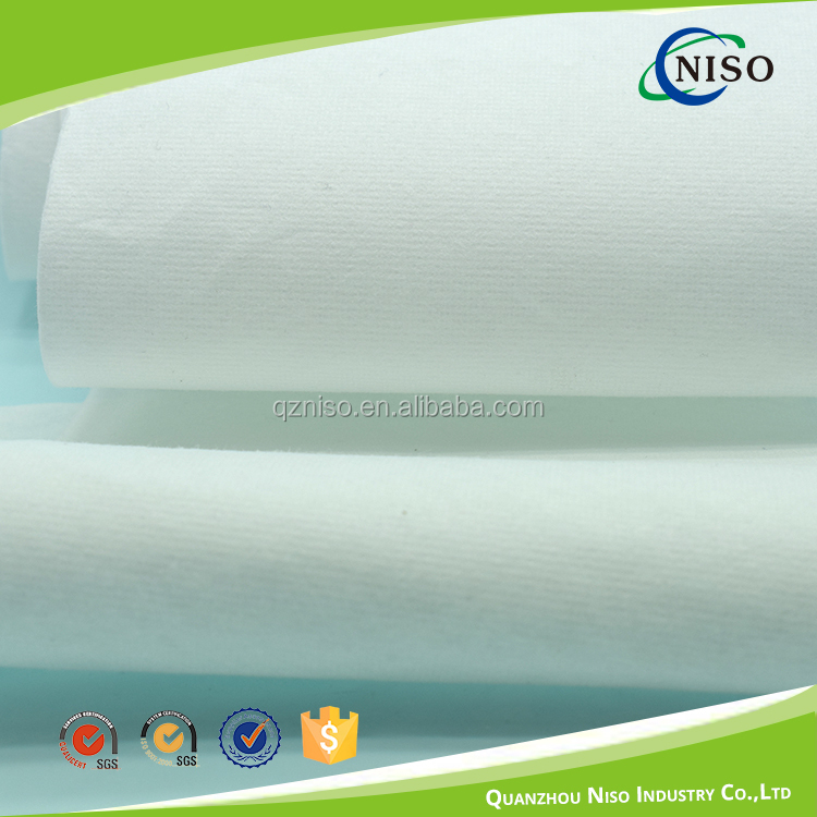 Sanitary pad pure white virgin pulp air laid paper with SAP rolls