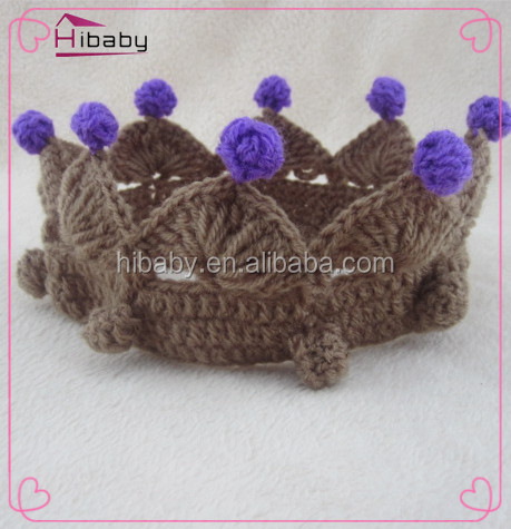 dult <strong>crown</strong> wool hair ribbon, teenage party gift