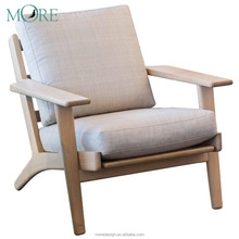 Modern one seat lounge leisure style leather home furniture chairs sofa