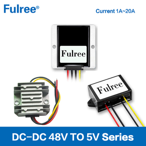 Fulree 48V to 5V DC-DC Converters, DC 5V Power Supply
