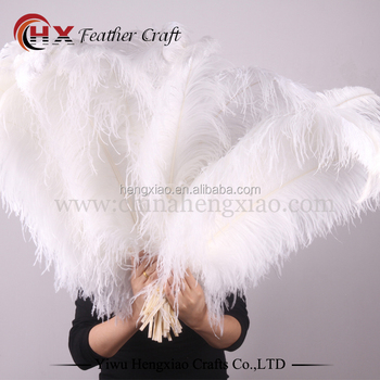 wholesale large white ostrich feathers for sale china supplier