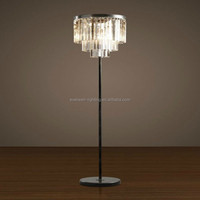 zhongshan antique china style crystal room floor lamp