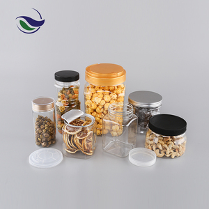 China wholesale food wrap packaging in dubai bottle container brown glass  jar