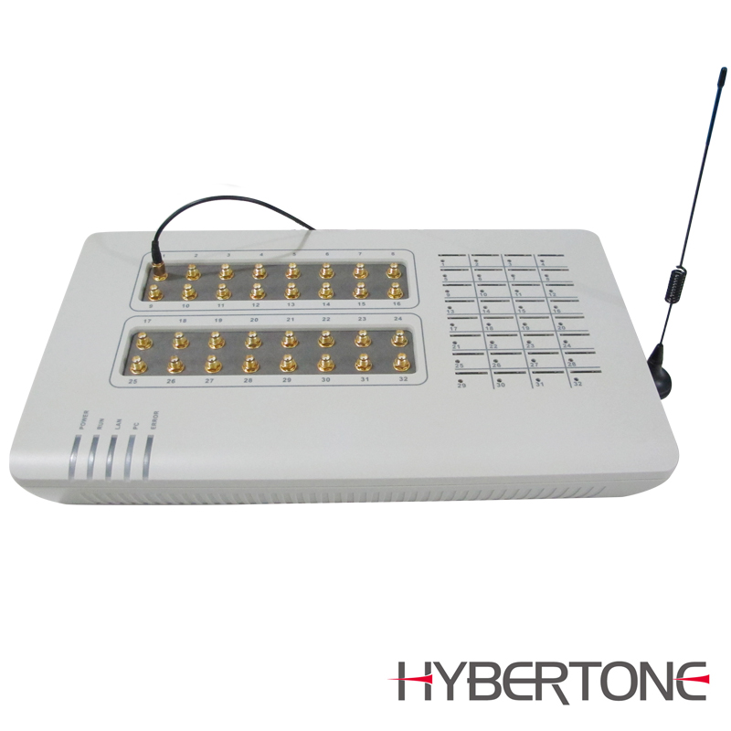 Hybertone goip gsm sim box hot voip vpn gateway 32-port goip 32