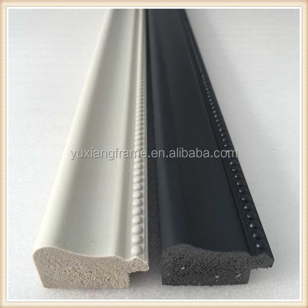 Factory Direct Wholesale Black Beads Design Polystyrene Photo Frame ...