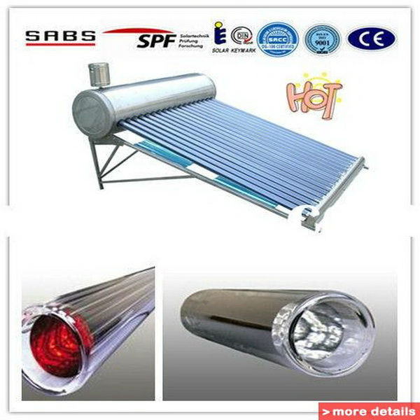 low pressure solar water heater, thermosiphon solar heating system