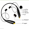 Neckband bluetooth headphone,Sports Stereo Bluetooth Headsets For Smart Phone