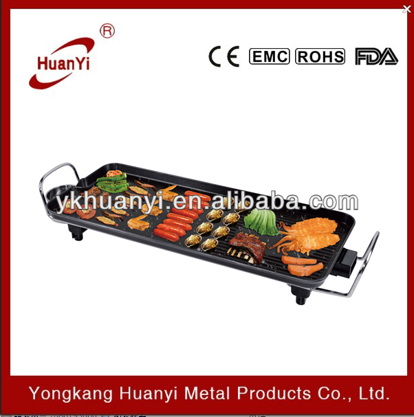 Ce Certification Tabletop Electric Bbq Grill Teppanyaki Grill - Buy ...