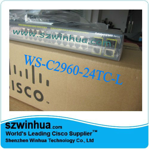 Original Cisco 2960 24 Ports Switches Ws-c2960-24tc-l