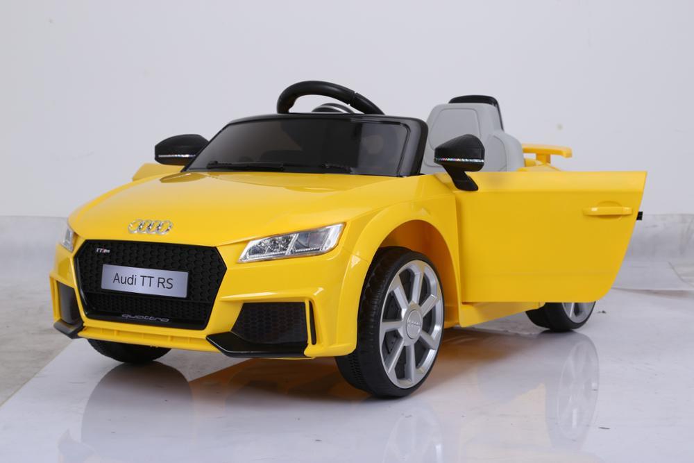 Licensed Audi Tt Rs Baby Car With Remote Controlvv Battery - Audi 6v car