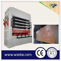 Veneer mold door skin / Press machine for door skin
