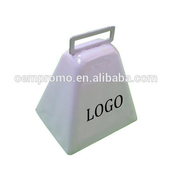 Sport Noisemakers Metal Small Cowbell for Cheering