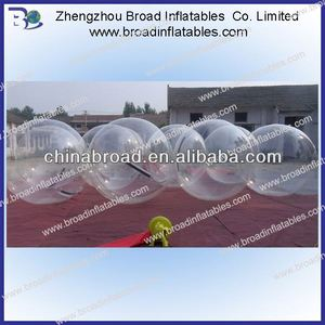 2m PVC/TPU aqua water ball,inflatable water ball,squishy balls that grow in water