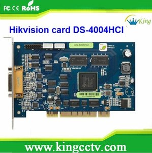 hot selling h.264 video card DVR Card PCI Video Capture Card DS-4004HCI