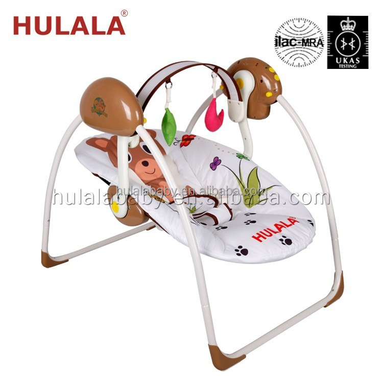 deluxe newborn cradle baby swing made in china